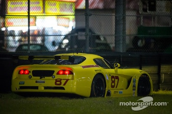 #87 Vehicle Technologies Dodge Viper: Tony Ave, Jan Heylen, Doug Peterson in trouble