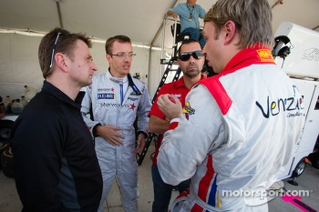 Sbastien Bourdais, Ryan Dalziel, Allan McNish, Alex Popow