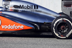McLaren MP4-28 exhaust
