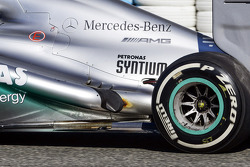 Mercedes AMG F1 W04 exhaust