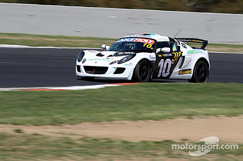 #10 Lotus Exige: Mark O'Connor, Adam Gowans, Chris Lillington-Price, Richard Meins