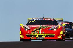 ENDURANCE: #33 Clearwater Racing Ferrari 458: Mok Weng Sun, Craig Baird, Matt Griffin
