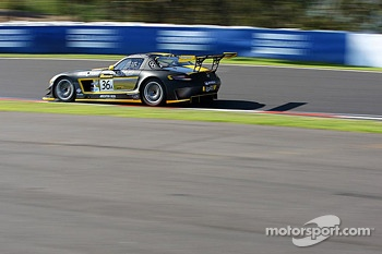 #36 Erebus Motorsport Mercedes SLS AMG GT3: Bernd Schneider, Thomas Jger, Alex Roloff