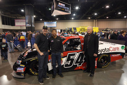 Darrell Wallace Jr. announced as driver of Kyle Busch's Toyota Car truck with Joe Gibbs
