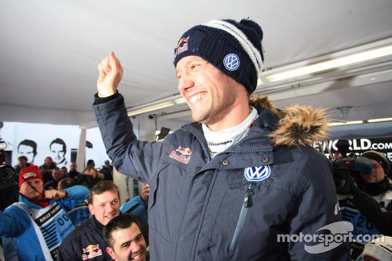 Winner Sébastien Ogier, Volkswagen Motorsport