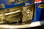 Damage on the car of Mark Martin, Michael Waltrip Racing Toyota