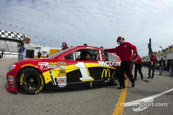 Jamie McMurray's car