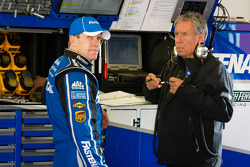 Carl Edwards, Roush Fenway Racing Ford and crew chief Jimmy Fenning