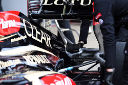 Lotus F1 E21 rear wing detail