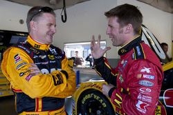 Jeff Burton and Jamie McMurray