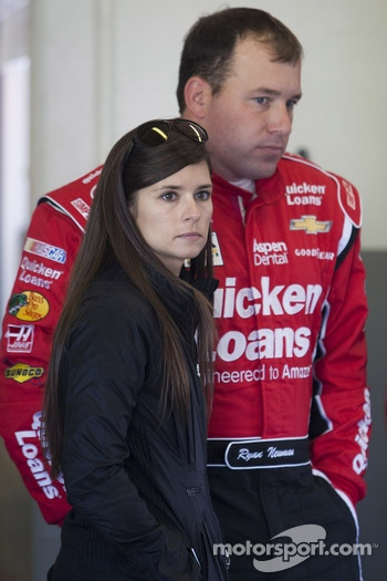 Ryan Newman and Danica Patrick