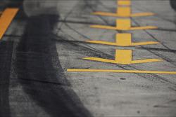 Pit lane markings