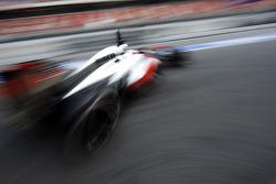 Jenson Button, McLaren MP4-28 leaves the pits