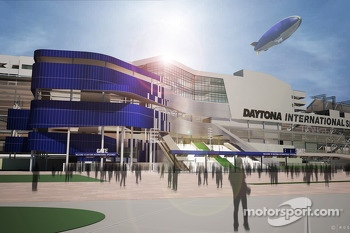 Artist renderings of the proposed vision of Daytona redesign