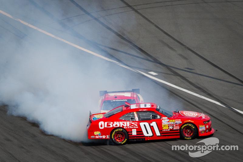Mike Wallace and Kurt Busch crash