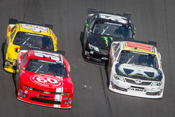 Matt Kenseth, Justin Allgaier, Kyle Busch and Michael Annett