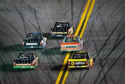 Trucks head back to track