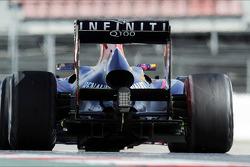 Sebastian Vettel, Red Bull Racing RB9 rear diffuser