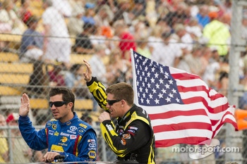 Martin Truex Jr. and Carl Edwards