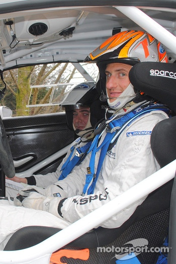 Matthew Wilson and Chris Patterson test the Ford Fiesta R5