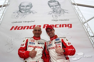 Gabriele Tarquini and Tiago Monteiro