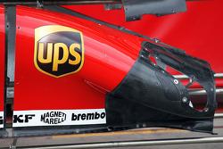 Ferrari F138 sidepod