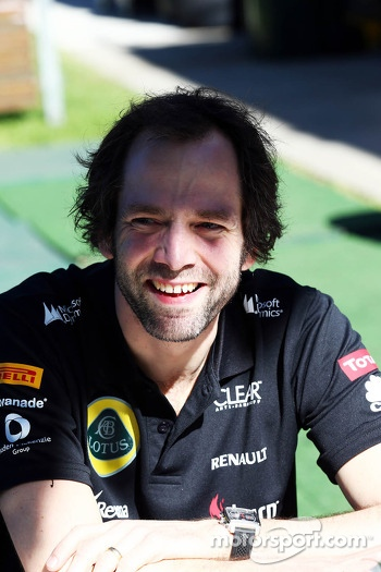 Ciaron Pilbeam, Lotus F1 Team Chief Race Engineer