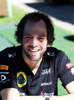 Ciaron Pilbeam, Lotus F1 Team Chief Race Engineer