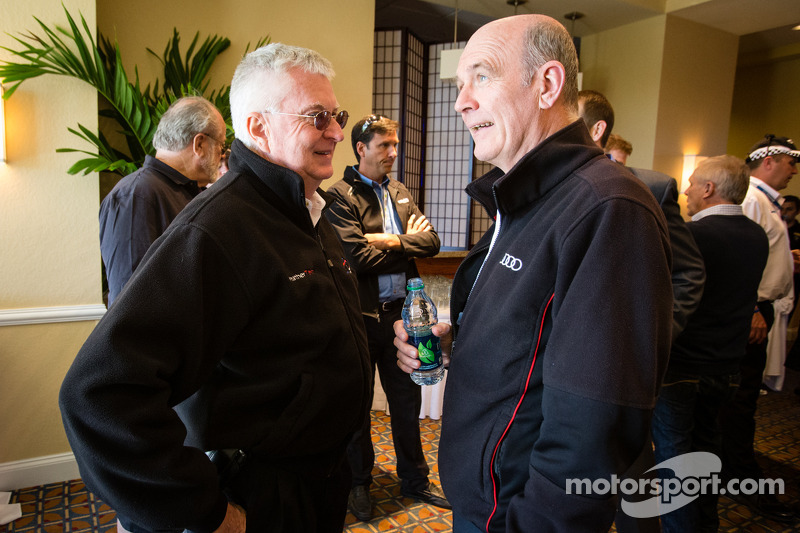 Unified Sports Car Series press conference: Alex Job and Dr. Wolfgang Ullrich