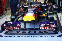 Red Bull Racing RB9 front wing
