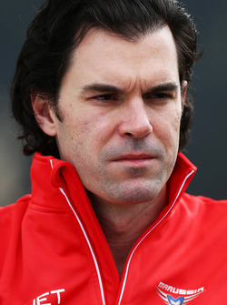 Marc Hynes, Marussia F1 Team Driver Coach