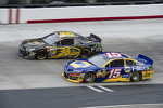 J.J. Yeley, Tommy Baldwin Racing Chevrolet, Clint Bowyer, Michael Waltrip Racing Toyota