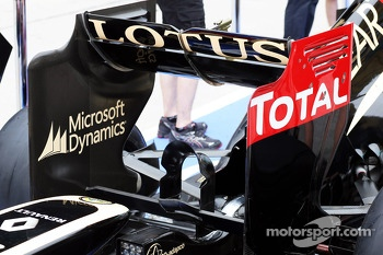 Lotus F1 E21 rear wing