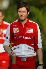 Rob Smedley, Ferrari Race Engineer