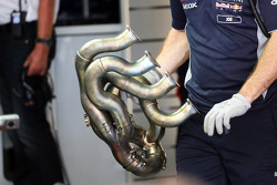 Red Bull Racing RB9 exhaust