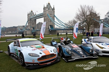 Aston Martin Vantage V8, Strakka LMP1, Ferrari 458