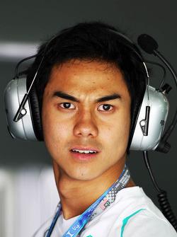 Jazeman Jaafar, Mercedes AMG F1