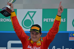 Podium: race winner Fabio Leimer