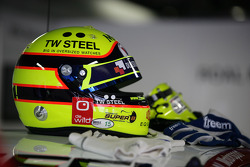 Helmet of Tom Coronel, ROAL Motorsport BMW E90 320 TC