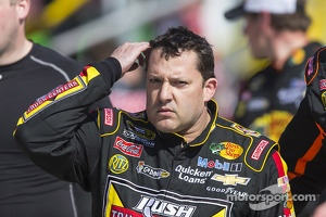Tony Stewart, Stewart-Haas Racing Chevrolet unhappy after the race