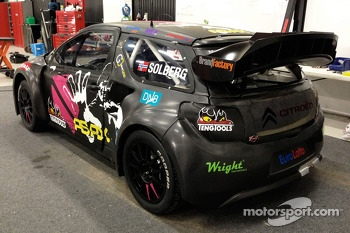 Petter Solberg Rally Cross car unveiling