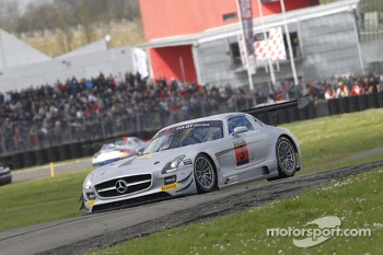 #3 HTP Gravity Charouz Mercedes SLS AMG GT3: Jan Stovicek, Petr Charouz