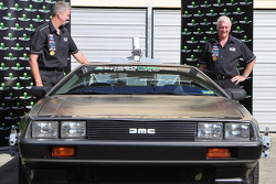 Dick Johnson Racing announces the DeLorean from the Back to the Future movies as a new manufacturer in the series