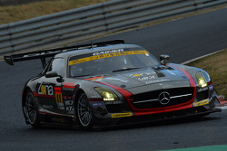 #11 Gainer Mercedes SLS AMG GTR3: Katsuyuki Hiranaka, Bjorn Wirdheim
