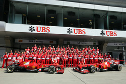Team photograph for Ferrari