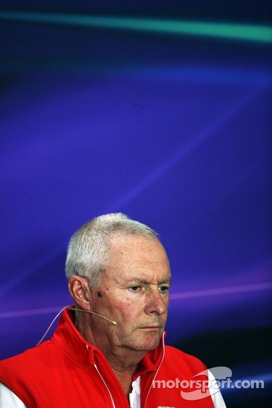 John Booth, Marussia F1 Team Team Principal in the FIA Press Conference