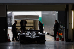 G-drive Oreca exiting its transport