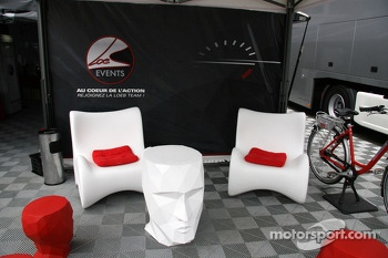 Sbastien Loeb Racing hospitality