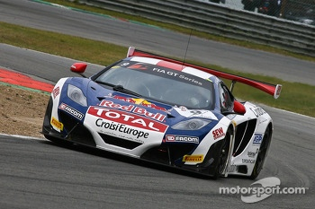 #9 Sbastien Loeb Racing McLaren MP4-12C: Sbastien Loeb, Alvaro Parente