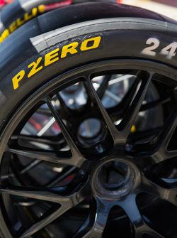 Pirelli PZERO in pit lane